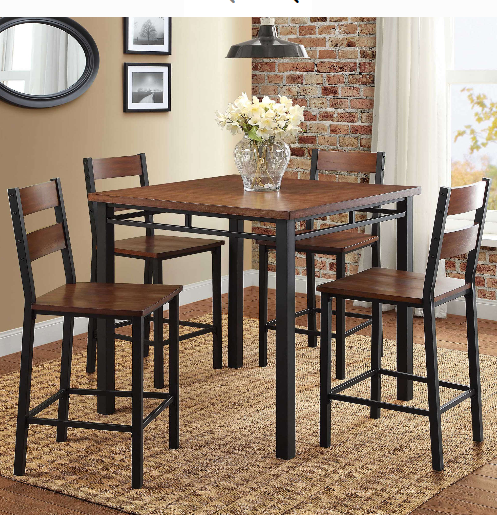 Dining Table Set For 4 With Chairs Kitchen Breakfast High To