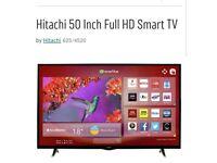 50inch Hitachi smart tv
