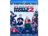 Daddy's Home 2 Blu-Ray - New & Sealed