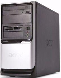 ACER Desktop Intel Core2 2.0Ghz (Win7x64) Desktop PC