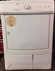 56 Zanussi ZDC37200 7kg White Condenser Tumble Dryer 1 YEAR GUARANTEE FREE DELIVERY
