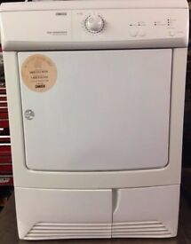 11 Zanussi ZDC37200 7kg White Condenser Tumble Dryer 1 YEAR GUARANTEE FREE DELIVERY
