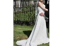 Wedding dress in size 10-12