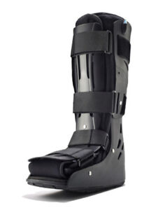 Air Boot and Crutches
