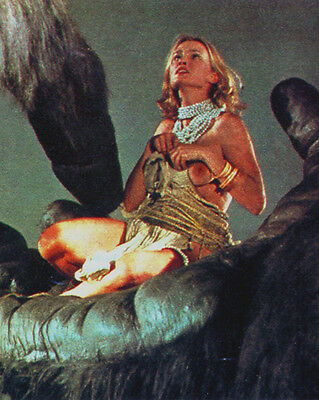 KING KONG (1975) JESSICA LANGE 8X10 PHOTO #7303