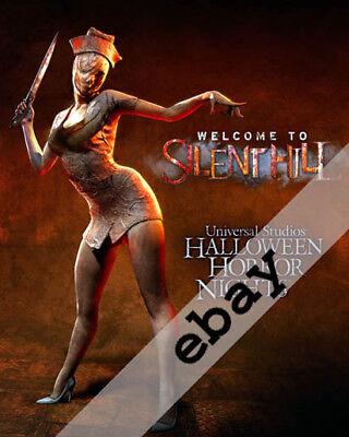 UNIVERSAL HALLOWEEN HORROR NIGHTS SILENT HILL NURSE PROMO 8X10 PHOTO #625](Promo Halloween Horror Nights)