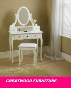 MIRROR VANITY WITH STOOL..SALE!! SALE!! SALE !! 169$ only