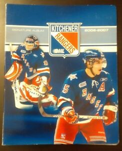 2006 - 2007 OHL Kitchener Rangers Signature Team Set Album