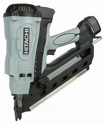 "NEW Hitachi 3-1/2"" Gas Cordless Clipped Head Strip Framing Nailer Stick Nail Gun"