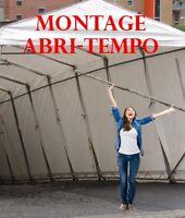MONTAGE & DÉMONTAGE D'ABRI TEMPO - Automne & Hiver