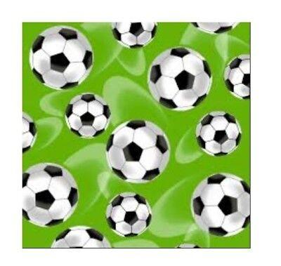 Sports Fabric - Score Soccer Ball Toss on Bright Green - Henry Glass YARD