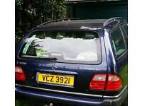 Mercedes w210 E300 td estate