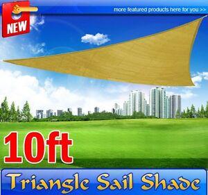 Frugah-Sand-Triangle-Sun-Sail-Shade-Canopy-10-FT-Outdoor-Patio-Garden-Shelter