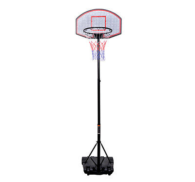 Youth Indoor / Outdoor Adjustable Height Portable Kids Basketball Hoop Goal Set on Rummage