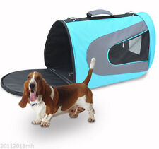 Airline Approved Pet Carrier Bag Crates Comfort Travel Sofa Sided Airline Tote