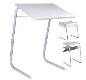 NEW TABLE MATE TV DINNER LAPTOP TRAY ADJUSTABLE FOLDING TABLE DESK