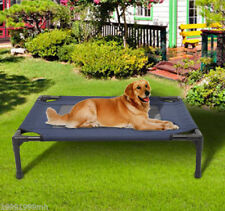 PawHut Elevated Pet Bed Dog Cat Cot Cooling Camping Pet Cozy Lounger Sleeper