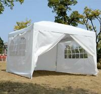 10x10 popup tent with walls / event tent / party tent / camping