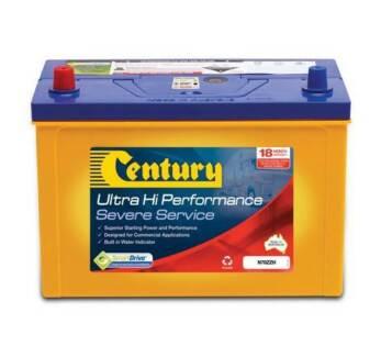 CENTURY N70ZZH ULTRA HIGH PERFORMANCE SEVERE SERVICE TRUCK & LIGH