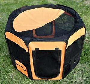 "32"" Diameter Dog House Puppy Playpen Cage Crate"