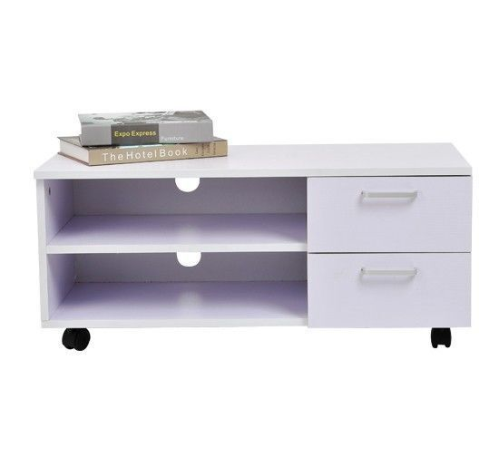 Mobiletto legno armadio Mobile porta TV con ruote cassetti