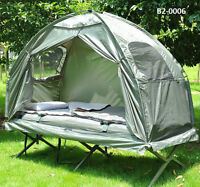 Single Camping Tent and Cot - TAX INCL