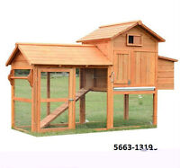 Chicken Coops and Rabbit Hutches - TAX INCL