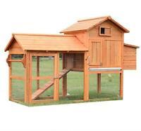 Coop Cage pour poules Poulailler Livraison gratuite Neuf
