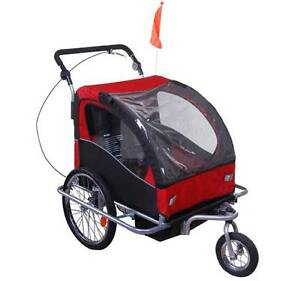 New 2 in1 Suspension Bicycle Trailer Kids Bike Trailer Stroller Auburn Auburn Area Preview