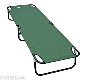 Outsunny-75-034-Deluxe-Folding-Military-Style-Camping-Cot-Portable-Bed-Green