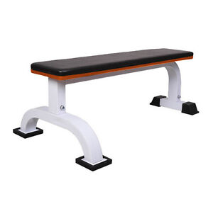 Barbell Flat Bench Press Dumbbell Weight Lifting Fitness ...