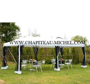 Chapiteau  pop-up 10'x20', Moustiquaire, A VENDRE,