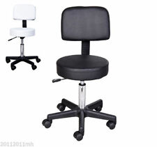 Hydraulic Salon Rolling Stool Tattoo Facial Massage Spa Chair Height Adjustable