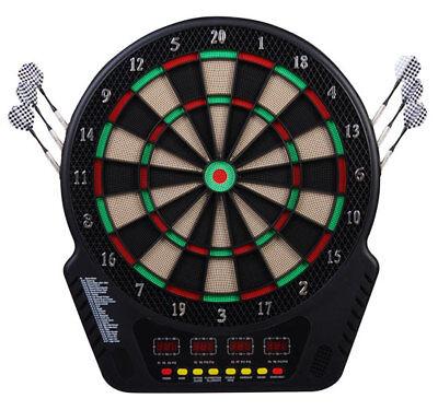 homcom  cible jeu de flÉchettes Électronique professionnel 243 jeux