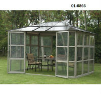 Luxury Gazebo With Doors and Windows - TAX INCL