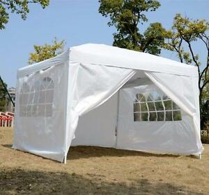 10 x 10 Pop up tent with walls / Tent for sale / wedding tent / event tent / outdoor party tent