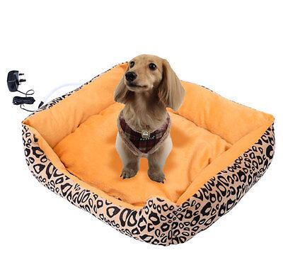 Pet Dog Electric Heating Bed Cat Kitten Puppy Heated Mat Heater Warmer Pad House
