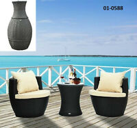 Outdoor Rattan Patio Furniture - 3 or 4 pc Sets - TAX INCL
