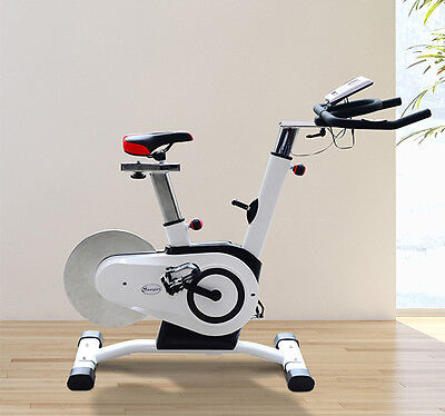 Pro Upright Exercise Bike Bicycle Trainer Indoor Cycling Home Cardio Workout