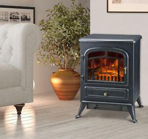 Free Standing Wood Fireplace Ebay