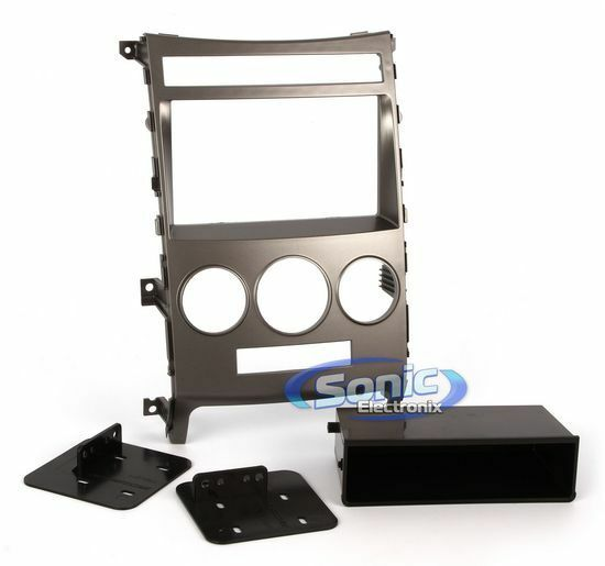 Scosche HY1629B Single/Double DIN Install Dash Kit for 2007-12 Hyundai Veracruz