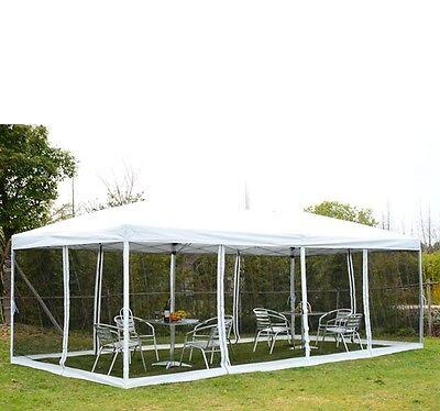 3 x 6m Faltpavillon Pavillon Faltzelt Partyzelt Gartenzelt mit Transporttasche
