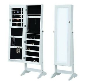 2-in-1 Jewelry Cabinet/ Mirror  —Free Shipping—