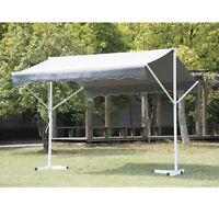 9.8' x 11.5' Patio Awning 2 Sided Garden Sun Shade Shelter Outdo