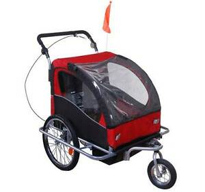 New 2 in 1 Suspension Bicycle Trailer Kids Bike Trailer Stroller Auburn Auburn Area Preview