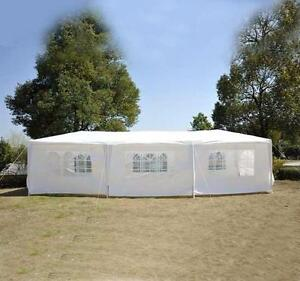Tent for sale 10' x 30' Party tent /Event tent / White Wedding Tent / Outdoor Tent/ Camping Tent