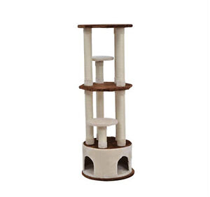 """63.2"""" Cat Tree Condo Scratching Post Furniture House"""