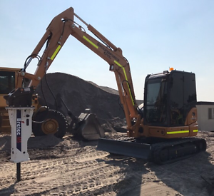 5.5ton Excavator and Rock Breaker Hire Bayswater Bayswater Area Preview