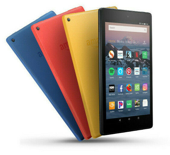 "Amazon Kindle Fire HD 8"" Tablet  Alexa/16GB/Dual Cam Black/B"