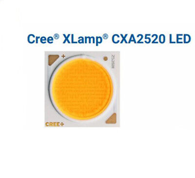 Cree Xlamp Cxa2520 Led 2000lm 47w36v 5000k 3000k White Light Chip Emitter Cob